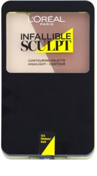 L'Oréal Paris Infallible Sculpt paleta do konturowania twarzy