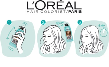 L'Oréal Paris Magic Retouch Spray zum sofortigen Kaschieren der Farbunterschiede durch nachwachsende Haare