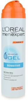 L'Oréal Paris Men Expert Hydra Sensitive gél na holenie pre citlivú pleť