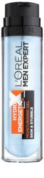 L'Oréal Paris Men Expert Hydra Energetic X hydratačný gel na tvár a fúzy