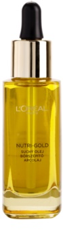 L'Oréal Paris Nutri-Gold olio viso a base di 8 oli essenziali
