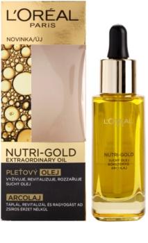 L'Oréal Paris Nutri-Gold olje za obraz iz 8 eteričnih olj