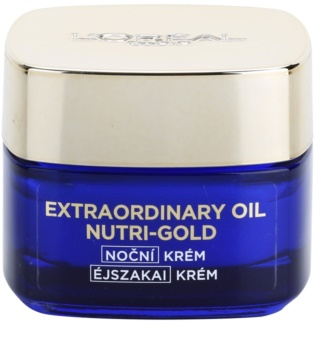 L'Oréal Paris Nutri-Gold Brightening Night Cream with the Intensity of a Mask