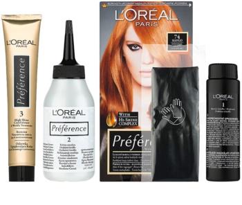 L'Oréal Paris Préférence coloração de cabelo