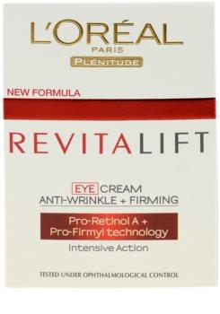 L'Oréal Paris Revitalift crema para contorno de ojos
