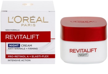 L'Oréal Paris Revitalift nočna krema za učvrstitev kože in proti gubam za vse tipe kože