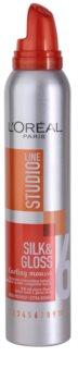 L'Oréal Paris Studio Line Silk&Gloss Curl Power pena pre vytvarovanie vĺn