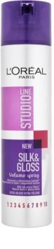 L'Oréal Paris Studio Line Silk&Gloss Volume Spray für Volumen und Glanz