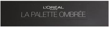 L'Oréal Paris Color Riche La Palette Ombrée paleta farduri de ochi cu oglindă si aplicator