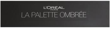 L'Oréal Paris Color Riche La Palette Ombrée paleta očných tieňov so zrkadielkom a aplikátorom
