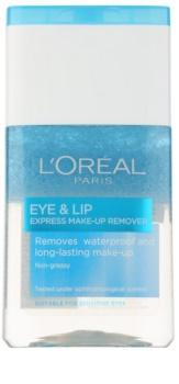 L'Oréal Paris Skin Perfection desmaquillante bifásico  para contorno de ojos y labios