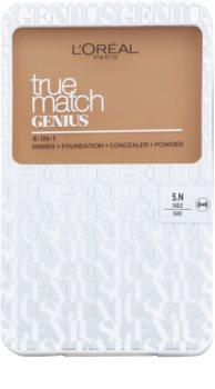 L'Oréal Paris True Match Genius podkład w kompakcie 4 v 1