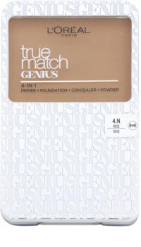 L'Oréal Paris True Match Genius kompaktný make-up 4 v 1