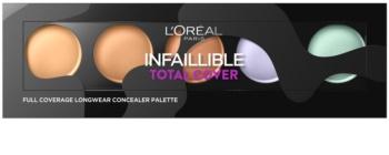 L'Oréal Paris Infaillible Total Cover палетка коректорів