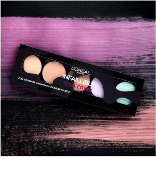 L'Oréal Paris Infaillible Total Cover paleta corectoare