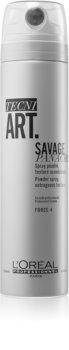 L'Oréal Professionnel Tecni.Art Savage Panache száraz hatású púder-spray, határtalan textúra