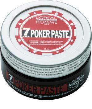 L'Oréal Professionnel Homme 7 Poker pasta modellante fissante extra forte
