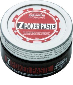 L'Oréal Professionnel Homme 7 Poker pâte modelante fixation extra forte