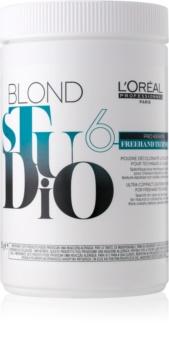 L'Oréal Professionnel Blond Studio Freehand Techniques 6 Lightening Powder