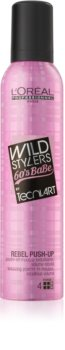 L'Oréal Professionnel Tecni Art Wild Stylers tvarujúca pena pre vlasy bez objemu