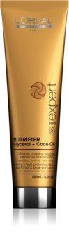 L'Oréal Professionnel Série Expert Nutrifier nährende Crem für thermische Umformung von Haaren