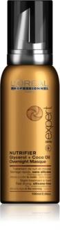 L'Oréal Professionnel Série Expert Nutrifier nočná starostlivosť vo forme peny pre suché a poškodené vlasy