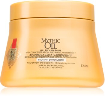L'Oréal Professionnel Mythic Oil поживна маска для густого та неслухняного волосся