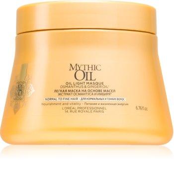 L'Oréal Professionnel Mythic Oil лека маслена маска за нормална към нежна коса