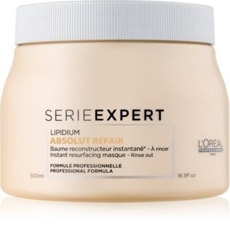 L'Oréal Professionnel Serie Expert Absolut Repair Lipidium masca pentru regenerare pentru par foarte deteriorat