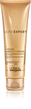 L'Oréal Professionnel Série Expert Absolut Repair Lipidium crema protectoare de regenerare pentru modelarea termica a parului