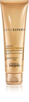 L'Oréal Professionnel Série Expert Absolut Repair Lipidium crema regeneradora protectora protector de calor para el cabello