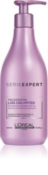 L'Oréal Professionnel Série Expert Liss Unlimited Gladmakend Shampoo voor Onhandelbaar en Pluizig Haar
