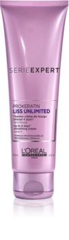 L'Oréal Professionnel Serie Expert Liss Unlimited termoochranný krém pre uhladenie nepoddajných vlasov