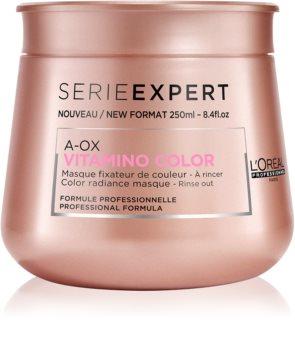 L'Oréal Professionnel Série Expert Vitamino Color AOX mascarilla nutritiva para cabello teñido