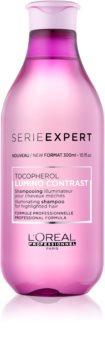 L'Oréal Professionnel Série Expert Lumino Contrast aufhellendes Shampoo für helles meliertes Haar