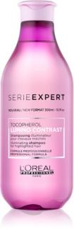 L'Oréal Professionnel Série Expert Lumino Contrast sampon pentru stralucire pentru par cu suvite