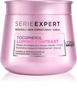 L'Oréal Professionnel Série Expert Lumino Contrast Verhelderende Masker  voor Highlighted Haar
