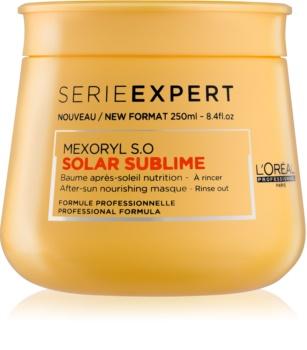 L'Oréal Professionnel Série Expert Solar Sublime tápláló maszk nap által károsult haj