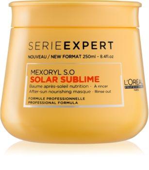 L'Oréal Professionnel Série Expert Solar Sublime Voedende Masker  voor Belast Haar door de Zon