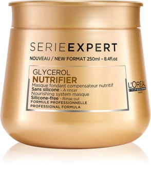 L'Oréal Professionnel Série Expert Nutrifier nährende Maske für trockenes und beschädigtes Haar