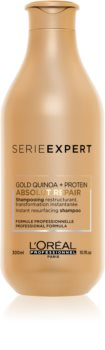 L'Oréal Professionnel Serie Expert Absolut Repair Gold Quinoa + Protein Regenerating Shampoo For Very Damaged Hair