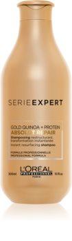 L'Oréal Professionnel Serie Expert Absolut Repair Gold Quinoa + Protein Regenierendes Shampoo für stark geschädigtes Haar