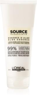 L'Oréal Professionnel Source Essentielle Aloe Essence balsamo per capelli in crema contro i capelli crespi