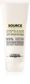 L'Oréal Professionnel Source Essentielle Aloe Essence vlasový krémový kondicionér proti krepatění