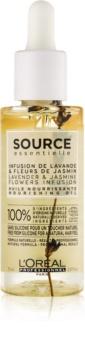 L'Oréal Professionnel Source Essentielle Lavender & Jasmine Flowers Infusion vyživující olej pro citlivé vlasy