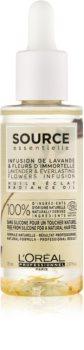 L'Oréal Professionnel Source Essentielle Lavender & Everlasting Flowers Infusion olej pro lesk barvených vlasů