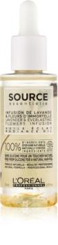 L'Oréal Professionnel Source Essentielle Lavender & Everlasting Flowers Infusion олио за блясък за боядисана коса