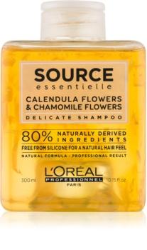 L'Oréal Professionnel Source Essentielle Calendula Flowers & Chamomile Flowers jemný šampon na vlasy