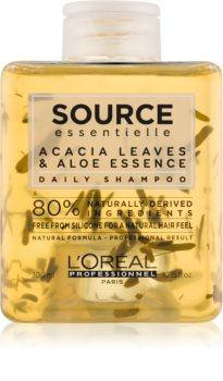 L'Oréal Professionnel Source Essentielle Acacia Leaves & Aloe Essence shampoo per uso quotidiano per capelli