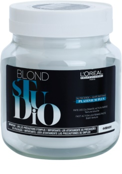 L'Oréal Professionnel Blond Studio Platinium Plus zesvětlující pasta s rychlejším účinkem